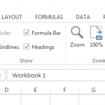 How to view two or more workbooks in Excel at the same time
