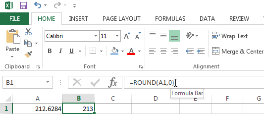 Rounding a number to the nearest integer