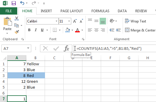 Use the COUNTIFS function to count cells based on multiple criteria